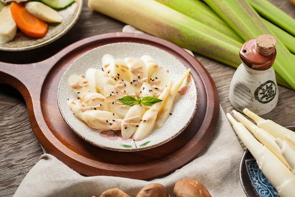 水煮茭白筍-胡麻茭白筍