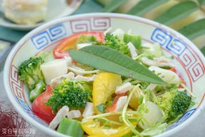 茭白筍創意料理-鳥不踏和風茭白筍沙拉