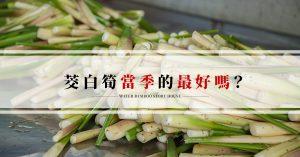 筊白筍季節-哪個季節吃茭白筍最好?