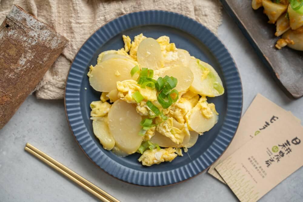 茭白筍炒蛋-筊白筍料理