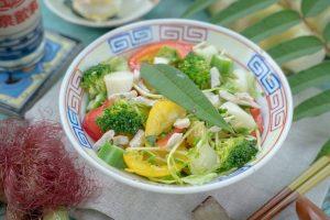 筊白筍料理-和風刺蔥茭白筍沙拉